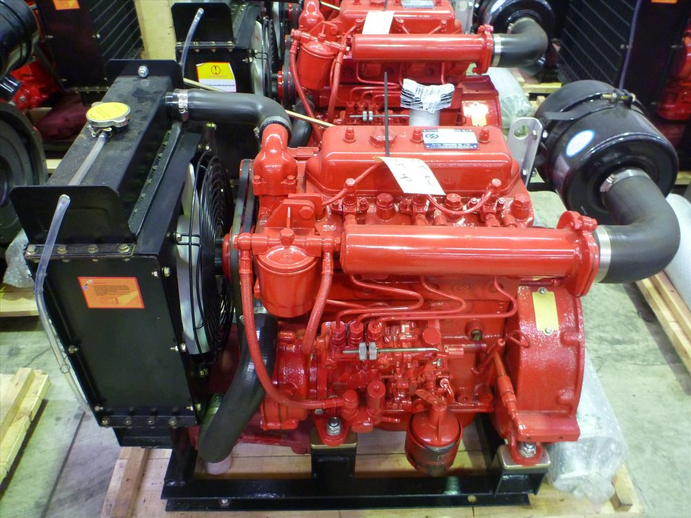 001 -YD380 Industrial Engine 27.5 hp - For Sale