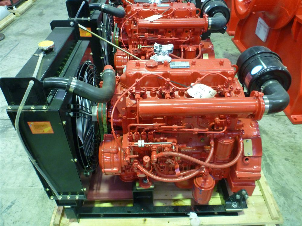 003 -YD490 Industrial Engine 56 hp - For Sale